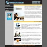 Screenshot del sitio Web de Domotiks